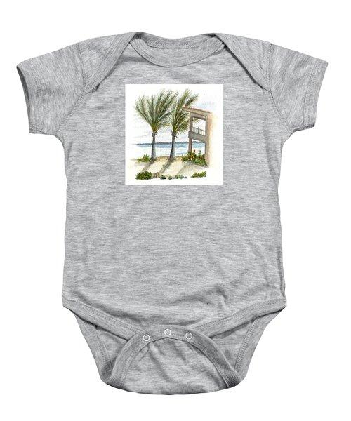Cayman Hotel Baby Onesie