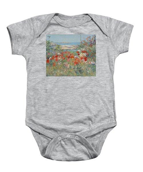 Celia Thaxter's Garden, Isles Of Shoals, Maine Baby Onesie