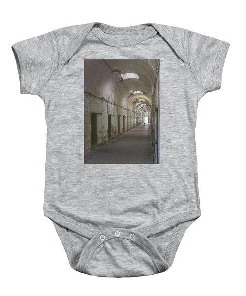 Cellblock Hallway Baby Onesie