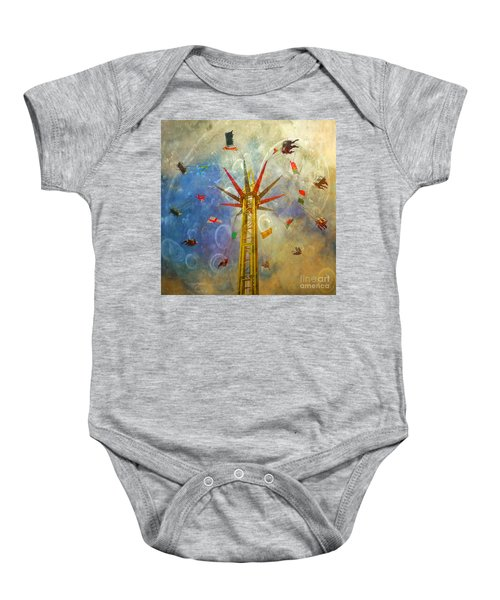 Centre Of The Universe Baby Onesie
