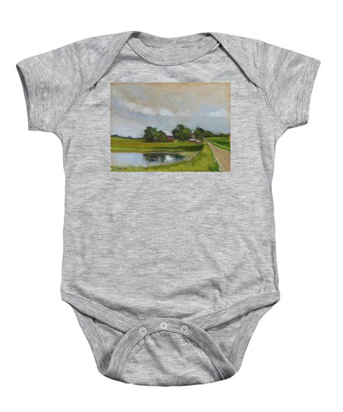 Century Farm Baby Onesie