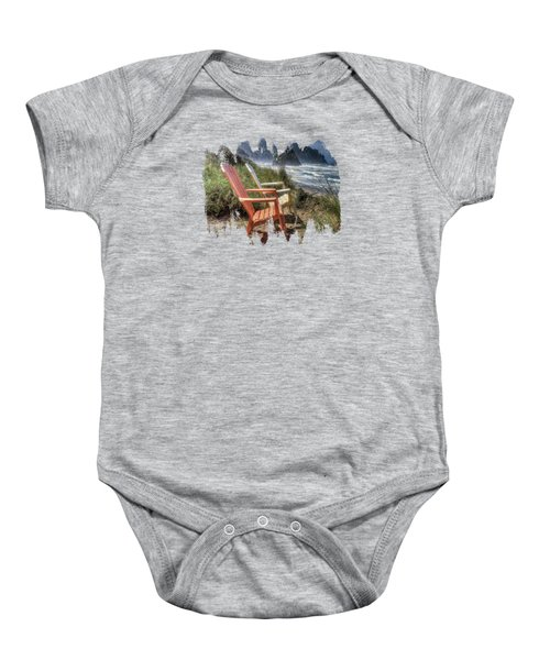 Lets Relax A Little Baby Onesie