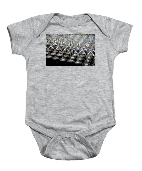 Champagne Army Baby Onesie