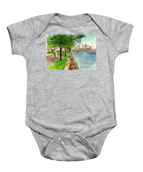 Channel Drive Tampa Florida Baby Onesie