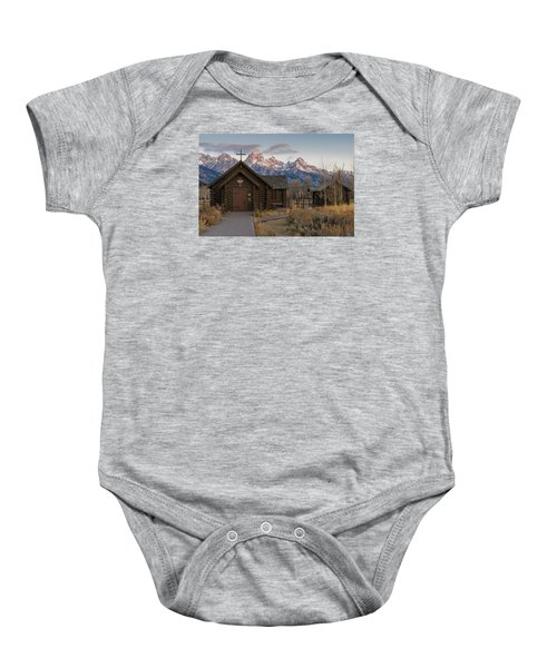 Chapel Of The Transfiguration - II Baby Onesie by Gary Lengyel