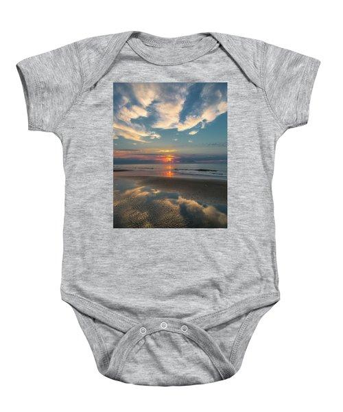 Charleston Coast Sunrise Baby Onesie