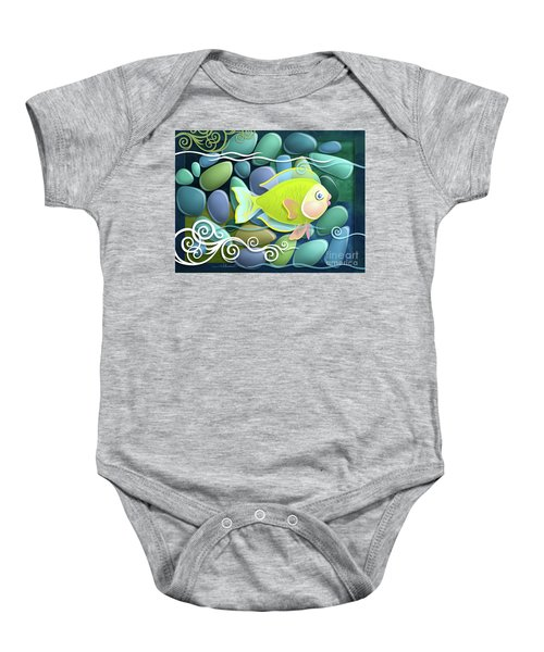 Chartreuse Baby Onesie