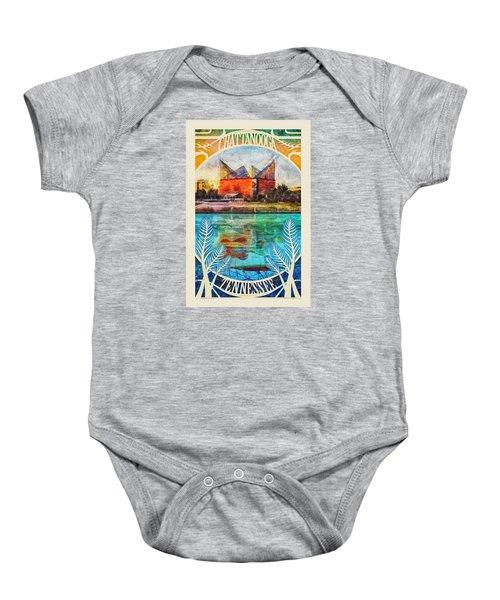 Chattanooga Aquarium Poster Baby Onesie