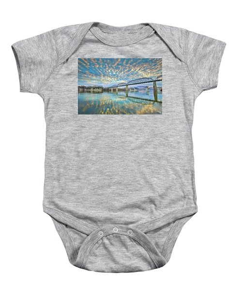 Chattanooga Has Crazy Clouds Baby Onesie