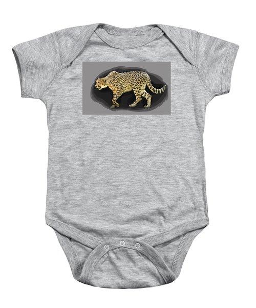Cheetah 10 Baby Onesie
