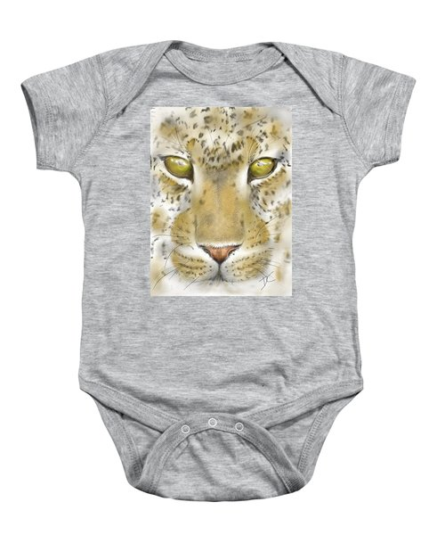 Cheetah Face Baby Onesie