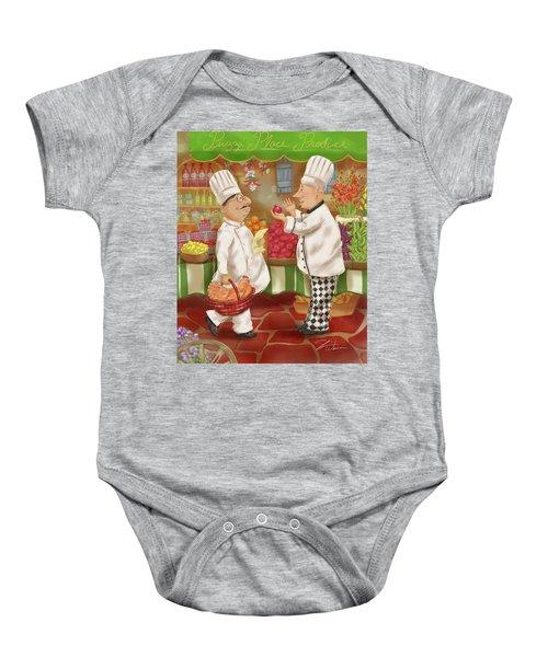 Chefs Go To Market Iv Baby Onesie