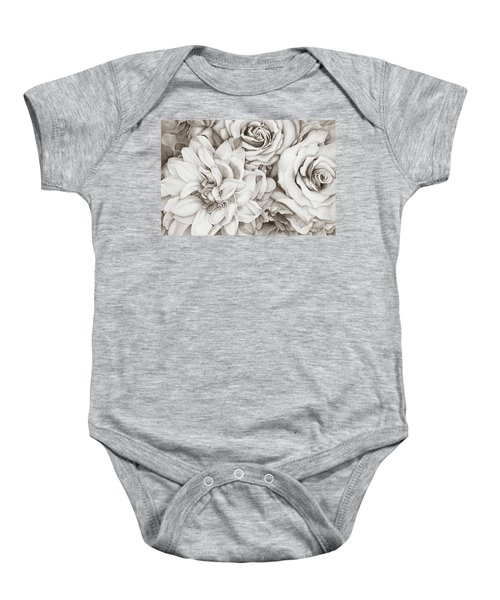 Chelsea's Bouquet - Neutral Baby Onesie