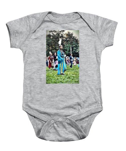 Cherokee Warrior Baby Onesie