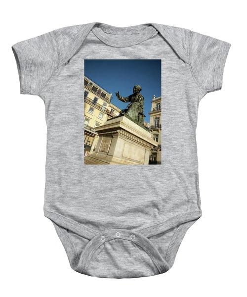 Chiado Square Statue Baby Onesie