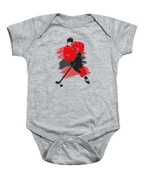 Chicago Blackhawks Player Shirt Baby Onesie