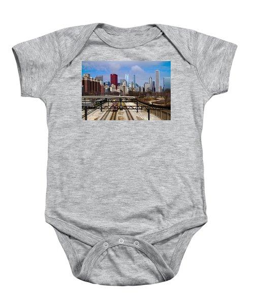 Chicago Metro Baby Onesie