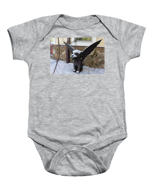 Chimera In The Snow Baby Onesie
