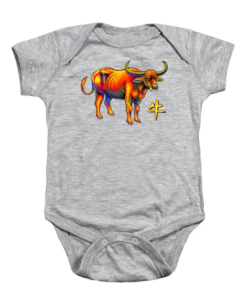 Chinese Zodiac - Year Of The Ox Baby Onesie