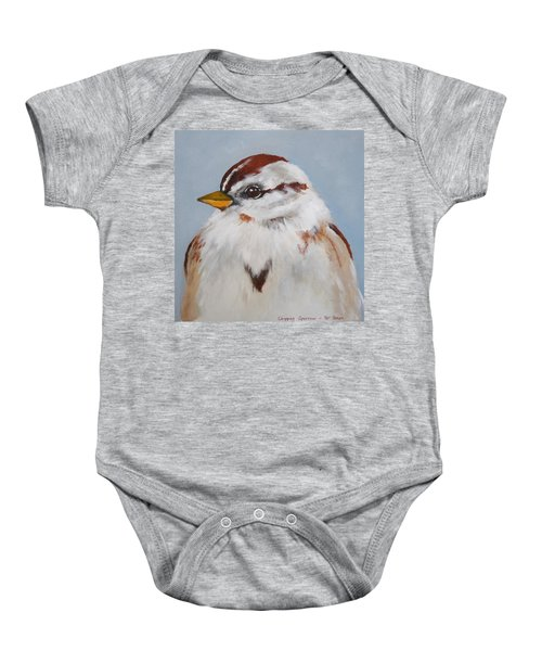 Chipping Sparrow Baby Onesie