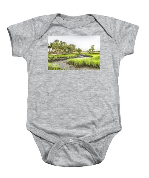Chisolm Island - Low Tide Baby Onesie