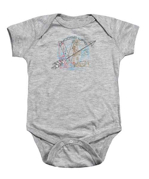 Choose Life Baby Onesie