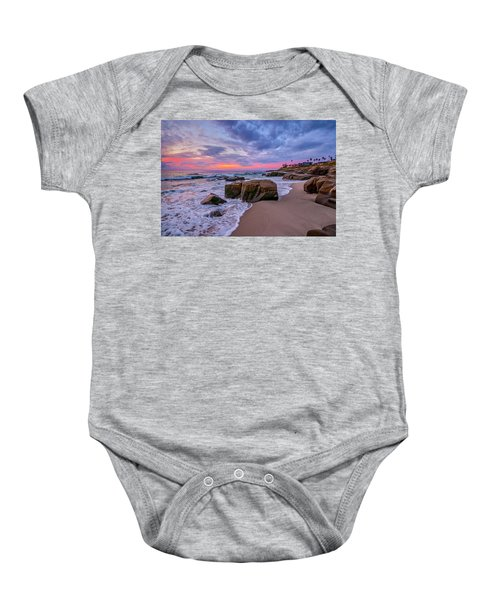 Chris's Rock Baby Onesie