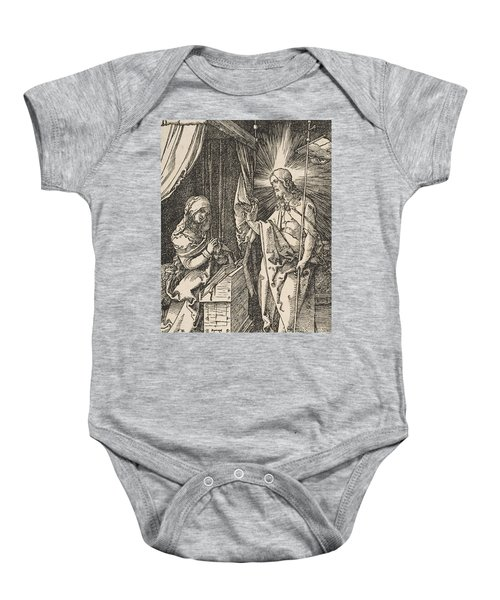 Christ Appearing To His Mother, From The Small Passion Baby Onesie