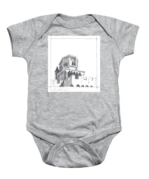 Church At Chamalieres Baby Onesie