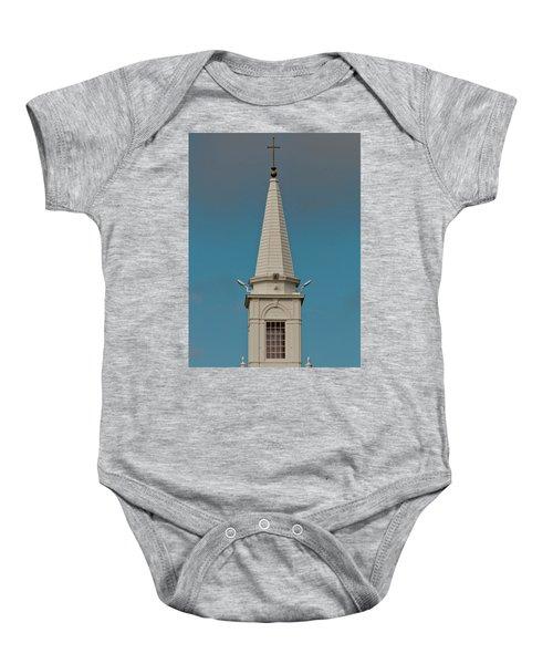 Church Steeple Baby Onesie