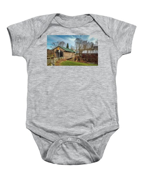Church Street Bridge Baby Onesie