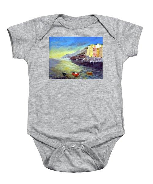 Cinque Terre Dreams Baby Onesie
