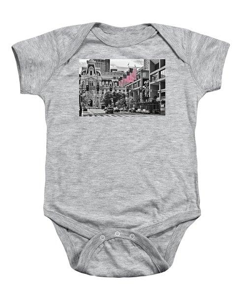 City Of Brotherly Love - Philadelphia Baby Onesie