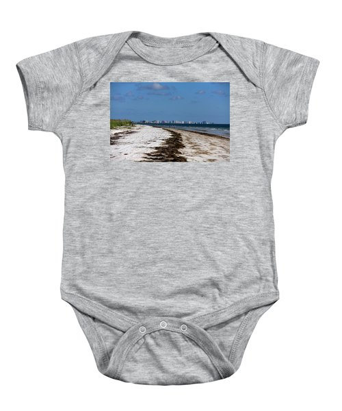 City Of Clearwater Skyline Baby Onesie