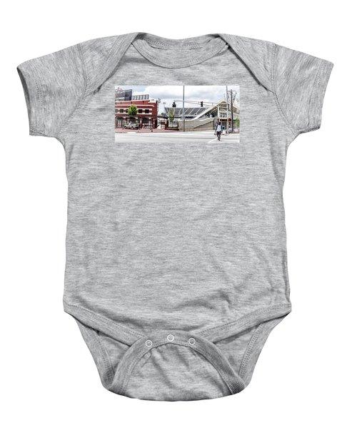 City Stadium Baby Onesie