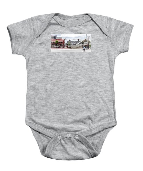 City Stadium Baby Onesie