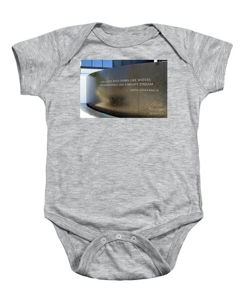 Civil Rights Memorial Baby Onesie