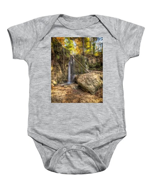 Clark Creek Nature Area Waterfall No. 1 Baby Onesie