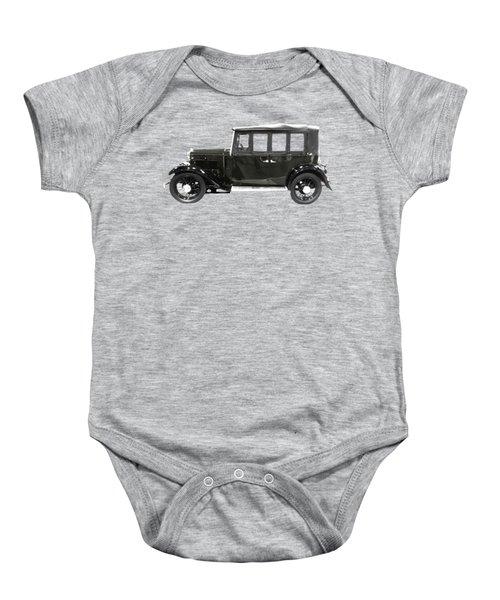 Classic Motor Black Art Baby Onesie