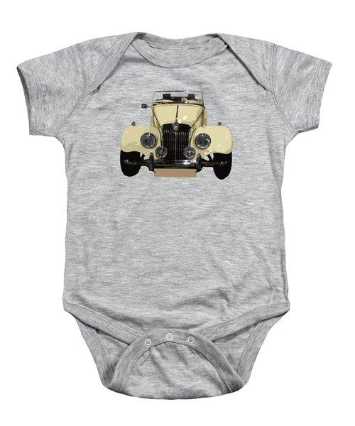 Classic Motor C Art Baby Onesie