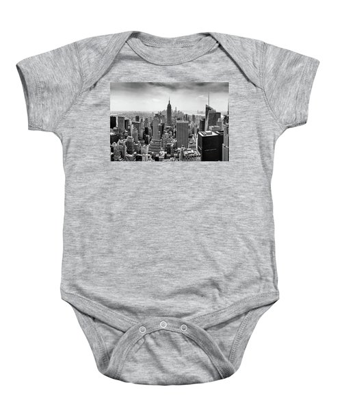 Classic New York  Baby Onesie by Az Jackson