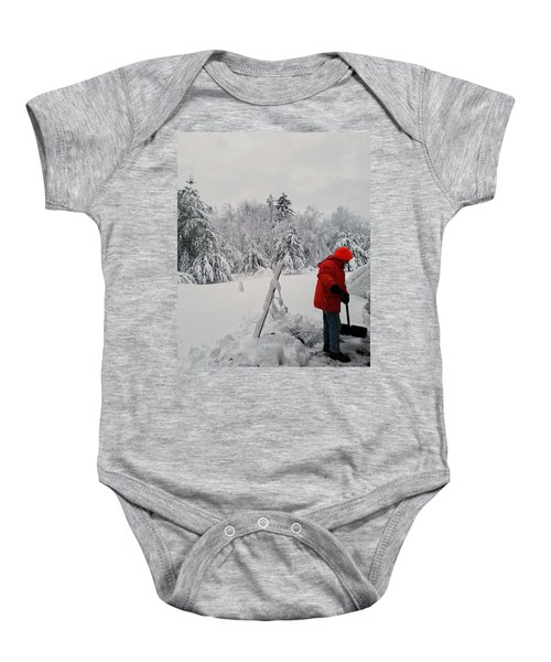 Clearing A Path Baby Onesie