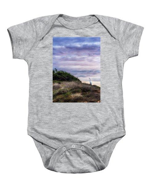 Cliffside Watcher Baby Onesie