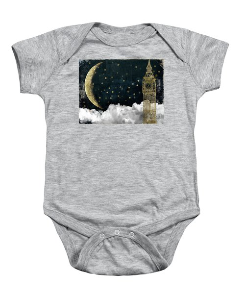 Cloud Cities London Baby Onesie by Mindy Sommers