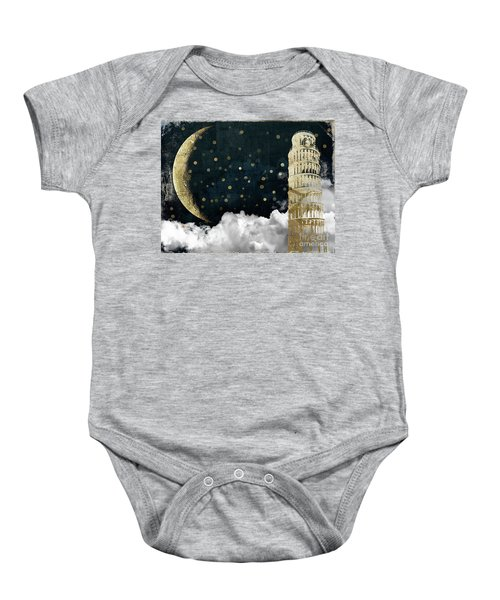 Cloud Cities Pisa Italy Baby Onesie by Mindy Sommers