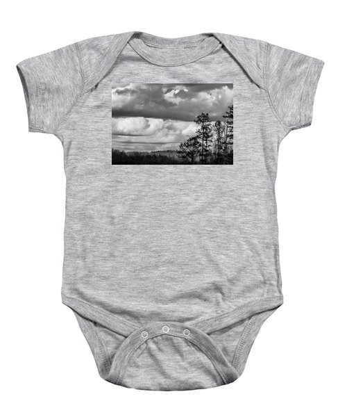 Clouds 2 Baby Onesie