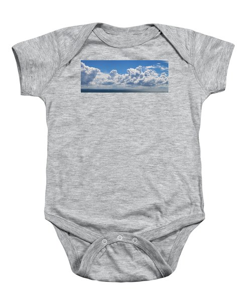 Clouds Over Catalina Island - Panorama Baby Onesie