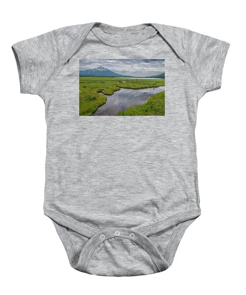 Clouds Over Sparks Baby Onesie