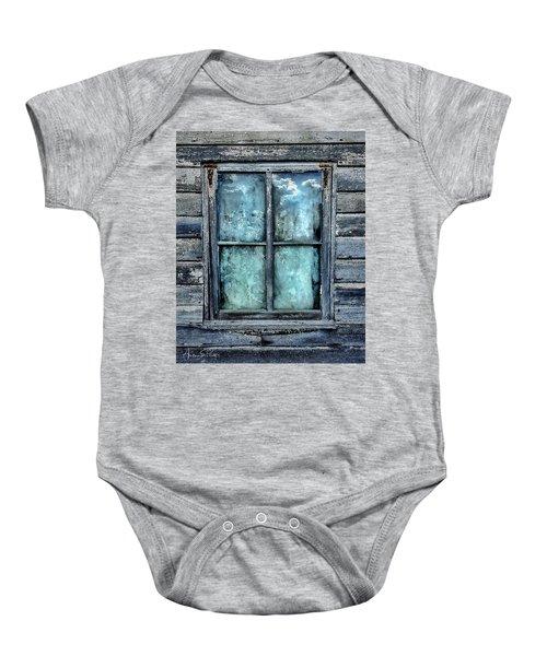 Cloudy Window Baby Onesie