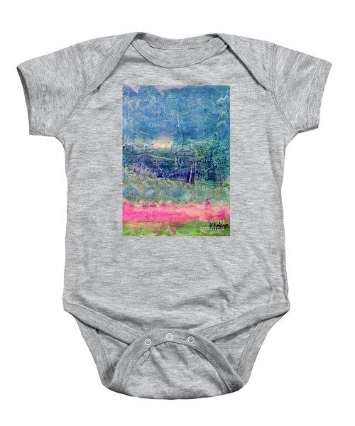 Clover Field Baby Onesie